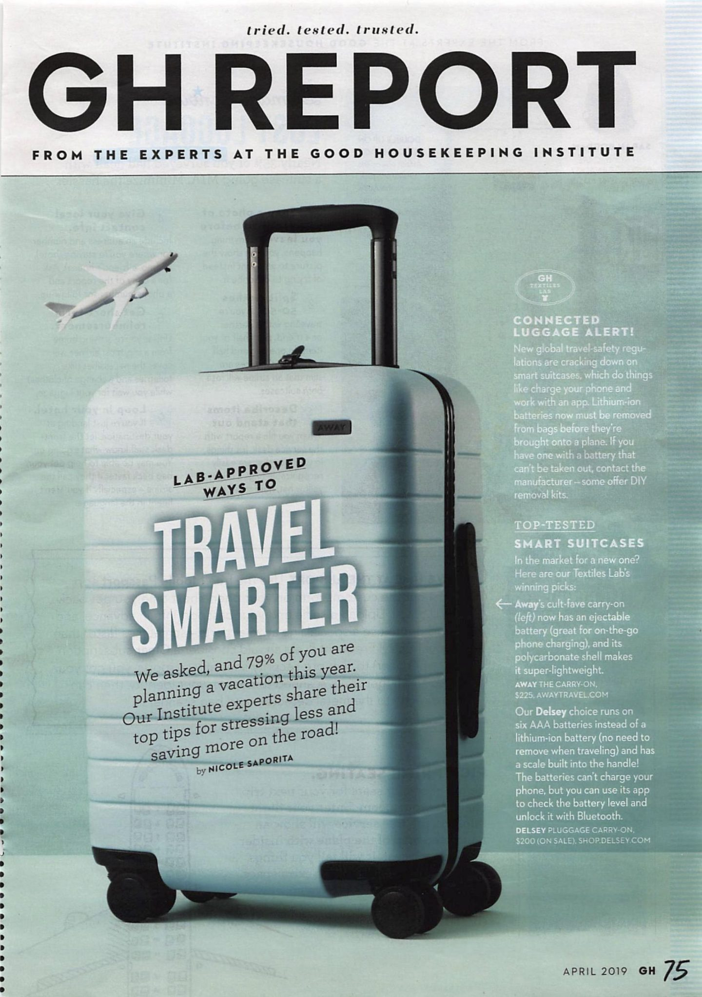 Good Housekeeping Report on Smart Travel